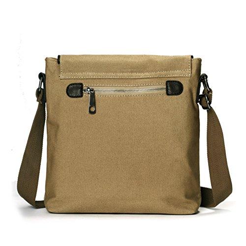 Mens Messenger Bags/Casual Canvas-tasche/Die Koreanische Version Von Der Mode Geschäft Vertikale Messenger Bag-A A