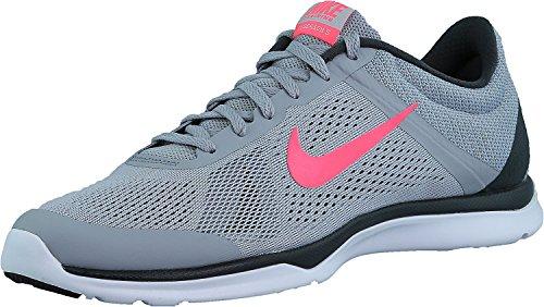 Nike Wmns Season Tr 5, Scarpe da Ginnastica Unisex-Adulto Gris (Wlf Gry / Hypr Pnk-Anthrct-Stlth)