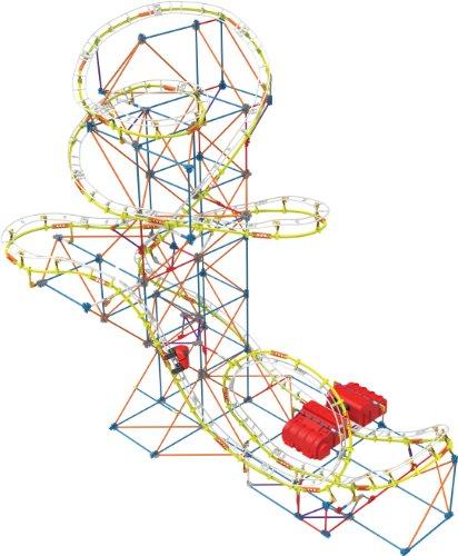 K'Nex 33114 - Thrill Rides - Supernova Blast Coaster - 840 Pieces - 9+ - BAU- und Konstruktionsspielzeug