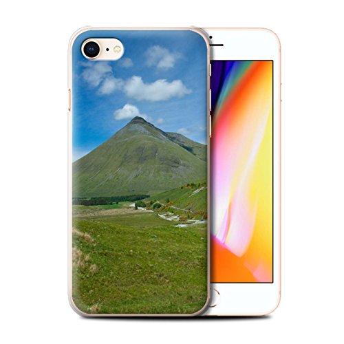 Stuff4 Hülle / Case für Apple iPhone 8 / Loch/Felsen Muster / Schottisch Landschaft Kollektion Berg