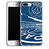 DeinDesign Apple iPhone 8 Plus Coque en Silicone Étui Silicone Coque Souple Paris Saint-Germain PSG Parc des Princes