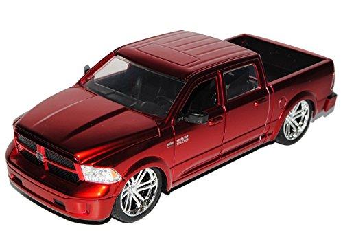 dodge-ram-1500-pick-up-metallic-rot-4-generation-ab-2009-ab-facelift-2014-1-24-jada-modell-auto-mit-