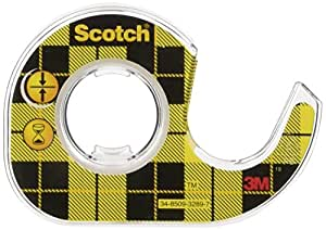 Scotch Double Sided Tape - Dispensered - Permanent - Clear - 12 mm x 6.3 m [Single]