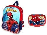 Zaino Spiderman - zainetto spiderman - scatola pranzo Spiderman