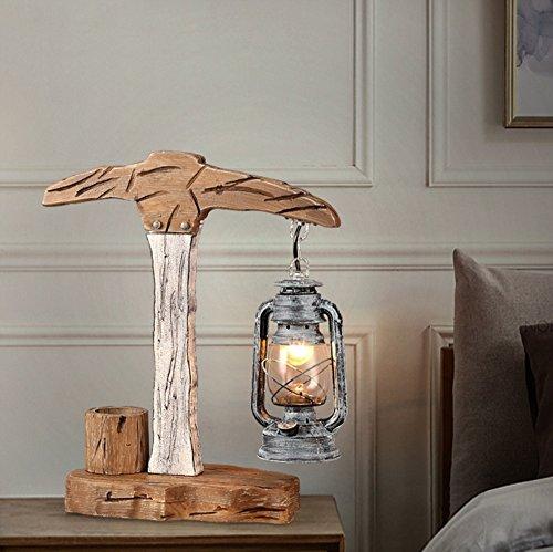 Économie d'énergie Protection des yeux - bit de marteau de fer bureau personnalité créative étude de la lampe de chevet chambre lampe de table de bar - (Ne pas inclure la source lumineuse)