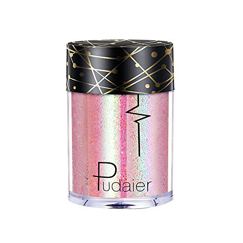 BHYDRY Mehrzweck-Shimmer-Glitter-Lidschatten-Pulver-Palette -