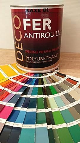 Peinture Exterieur Chocolat - Peinture Glycéro Satin - DECO FER -