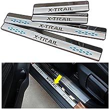 Nissan Rogue X-Trail 14–15puerta Sills alféizar de la placa de protección guard paneles proteger