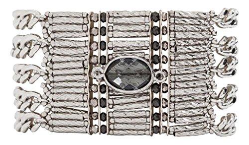 5d3b4939b03c12 Hipanema Women Stainless Steel Cuff Bracelet - E18MBARASI