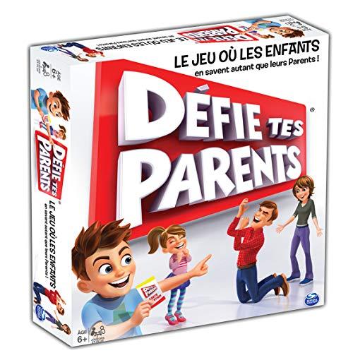 Spin Master Games - 6041053 - Jeu de Société - Défie Tes Parents