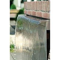 Cascada de acero inoxidable (60cm) - Suministro de agua por la parte de abajo