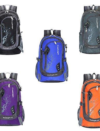 GXS Outdoor Sports Bergsteigen Tasche Reise Rucksack Camping Reiten schwarz - schwarz