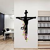Decals Design 'Jesus Christ Floral Relig...