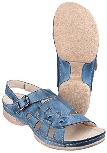Cotswold Chipping D'Été De Dames De Santal Été De Dames Chaussures En Cuir Denim