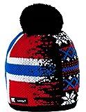 Unisex Winter Cappello Invernale di Lana Berretto Beanie Hat Pera Jersey Sci Snowboard di Moda (Nordic 45)