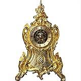 Best Mesas de arte genérico - Relojes de Pared Europea - Estilo Reloj Dorado Review