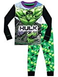 Marvel - Pijama para Niños - El Increible Hulk - Ajuste Ceñido - 3 -...