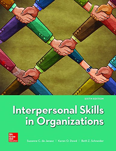 Loose Leaf for Interpersonal Skills in Organizations