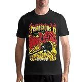 Quitelike Tenacious D T Shirts Men's Tops Short Sleeved Round Neck Cotton Tee Tops Männer T-Shirts