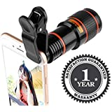 Shaarq 8X Optical Zoom Telescope Phone Camera Lens Compatible of All Smartphones