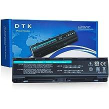 DTK® Portatile Nuovo Batteria di Ricambio per Toshiba PA5023U-1BRS, PA5024U-1BRS, PA5025U-1BRS, PA5026U-1BRS,PABAS259, PABAS260, PABAS261, PABAS262, Satellite L850 C850,C855D,C855-S5206,C855-S5214, C870D,C875D Series [6cells 4400 mAh]