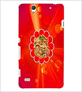 PrintDhaba Lord Ganesha D-3334 Back Case Cover for SONY XPERIA C4 (Multi-Coloured)