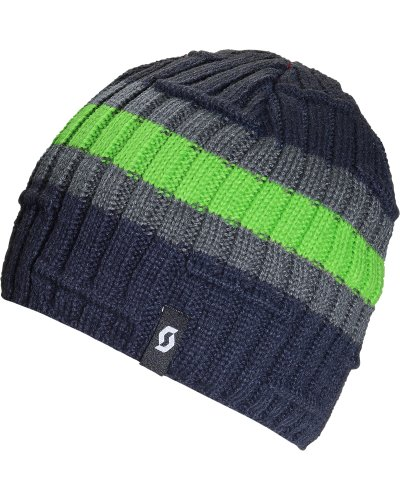 Scott USA Tempo Beanie, unisex Herren, Ink/Grass | 00886118003771