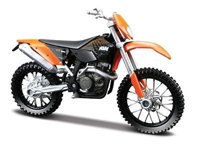KTM 450 EXC schwarz orange 1:18 Enduro Modell von Maisto