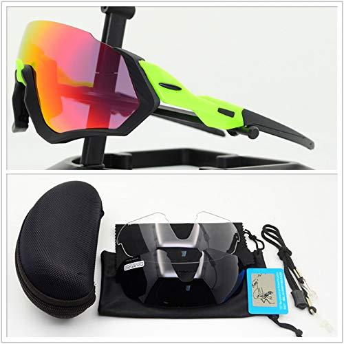 ZKAMUYLC SonnenbrilleNeue Radfahren Brille Photochrome Fahrrad Brille Sport Radfahren Sonnenbrillen Outdoor Brillen Gafas Ciclismo