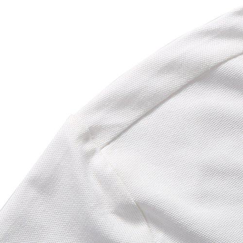 WALK-LEADER Herren Poloshirt Weiß