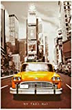 1art1 40950 New York - Taxi No.1 Poster (91 x 61 cm)