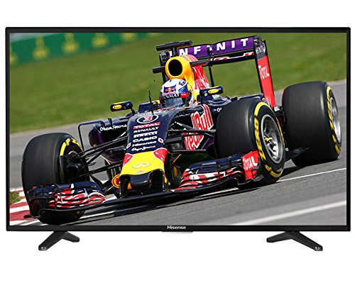 Hisense 50 inch Widescreen 4K Smart LED TV with Freeview HD - Black