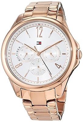 Tommy Hilfiger - Reloj Multiesfera para Mujer de Cuarzo con Correa en Acero Inoxidable 1781824