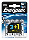 Energizer 287266 ENLITHIUMAA4SO Lithium AA L91 /3+1, 1.5 V, grau