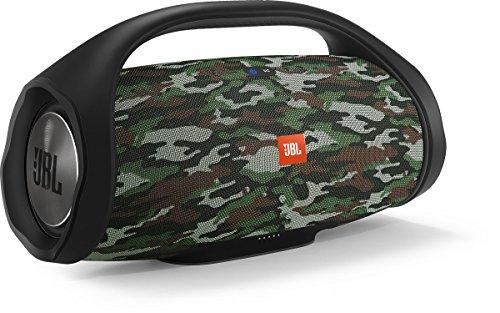 JBL Boombox - Altavoz Bluetooth Portátil, Color Negro, 25.45 x 49.5 x 19.55 cm