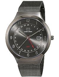 Danish Design Hombre Reloj de pulsera analógico cuarzo acero inoxidable iq64q1114