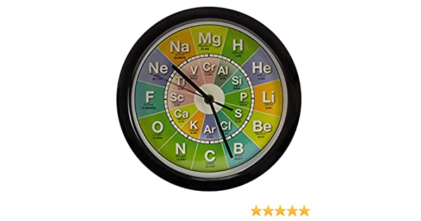 Getdigital chemistry clock amazon kitchen home urtaz Images