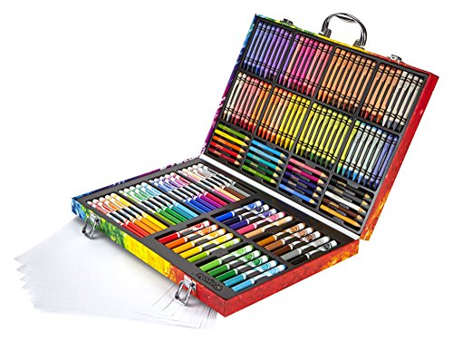 Crayola Inspirational art case (140pcs.) - kits de manualidades para niños (Lápiz...