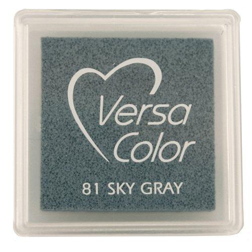 versasmall Tinte Pads Tsukineko Pigment Tinte Pad, Sky Grau (Stempelkissen Schaumstoff)