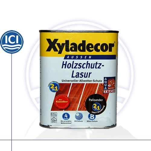 Preisvergleich Produktbild Xyladecor Holzschutzlasur 208 palisander 0,75 Liter