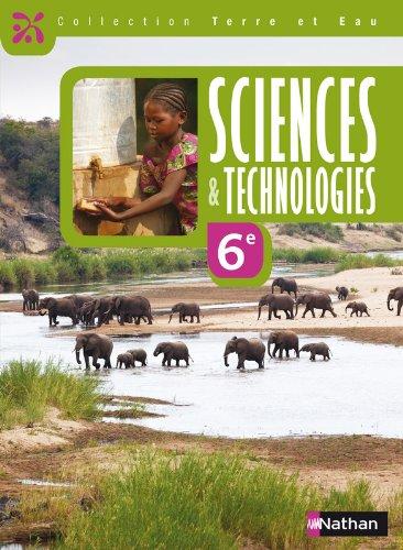 Terre et Eau Sciences et Techn par Collectif