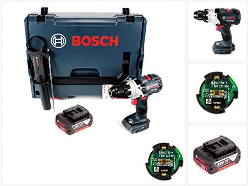 Preisvergleich Produktbild Bosch GSR 18 V-85 C Professional Li-Ion Brushless Akku Bohrschrauber in L-Boxx mit GCY 30-4 Connectivity Modul und 1x GBA 5,0 Ah Akku