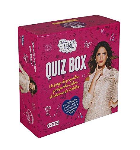 Violetta. Quiz box : un juego de preguntas y respuestas sobre el universo de Violetta (Libros singulares) (Juegos De Violetta)