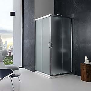 cabine de douche 80x80 carre 39 mod le giada cristal opaque. Black Bedroom Furniture Sets. Home Design Ideas