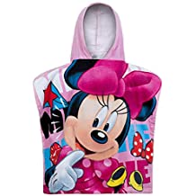 Niños niñas Disney Minnie Mouse con capucha baño/toalla de playa