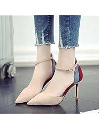 GAOLIM El Muelle De Alta Heel Shoes Singles Femeninos Zapatos Bien Con Una Punta Estrecha Para Zapatos De Mujer
