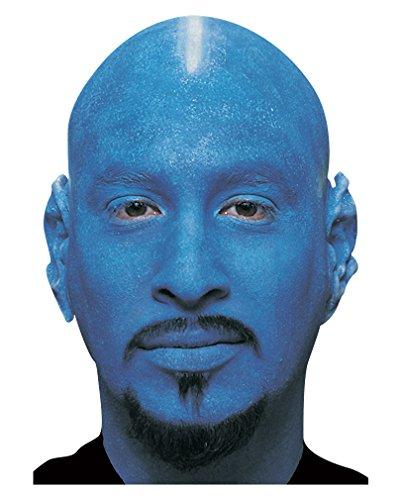 Blaue Glatzenhaube (Blue Man Group Kostüm)