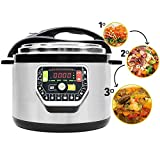 Cecotec 599392031 - Programmable Pot Model G 10 litres, Multifunction Programmable Kitchen Robot That Cooks for You, Capacity Up to 10 litres