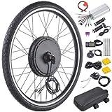 """Fanwer Electric Bicycle Wheel Kit 26"""" Front Wheel 48V 1000W E-Bike Conversion Kit"""