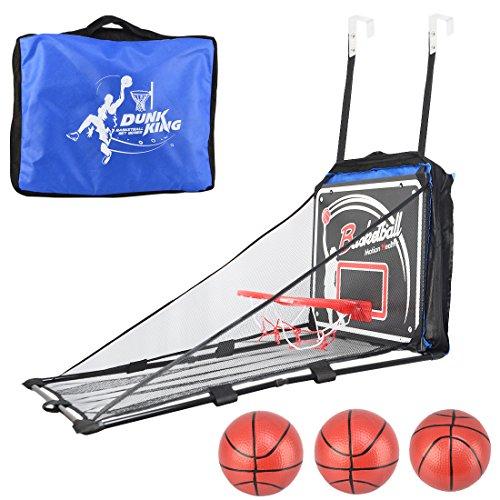 Basketballkorb, Likeluk Kinder Indoor Outdoor Hängenden Basketballkorbset Box Mini Basketball Brett Kinder Freizeit Sport (Mini-basketballkorb Outdoor)